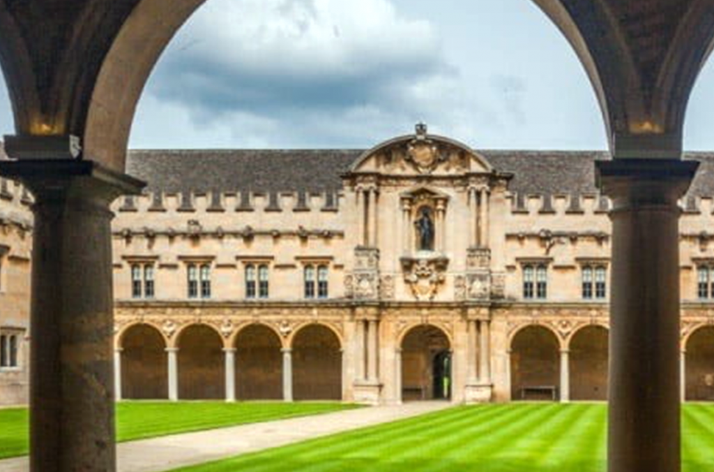 St. John's College, Oxford, UK